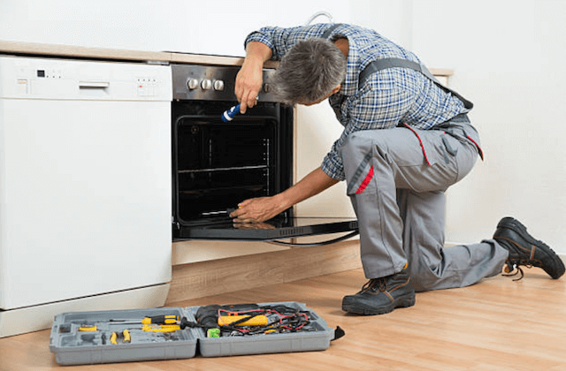 fixing broken dishwasher